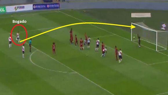Jeremías Bogado: GOL de tiro libre de Universitario vs Municipal por fecha 14 del Torneo Clausura de Liga 1 [VIDEO]