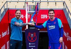 Barcelona vs Athletic Club: HOY Dónde y cómo ver final de Copa del Rey 2021