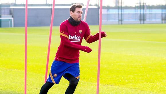 Lionel Messi tiene contrato con Barcelona hasta mediados del 2021. (Foto: AFP)