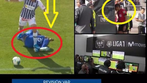 Alianza Lima vs Binacional: Se usó el VAR por primera vez en el Perú y provocó expulsión de Rosell Video Fotos