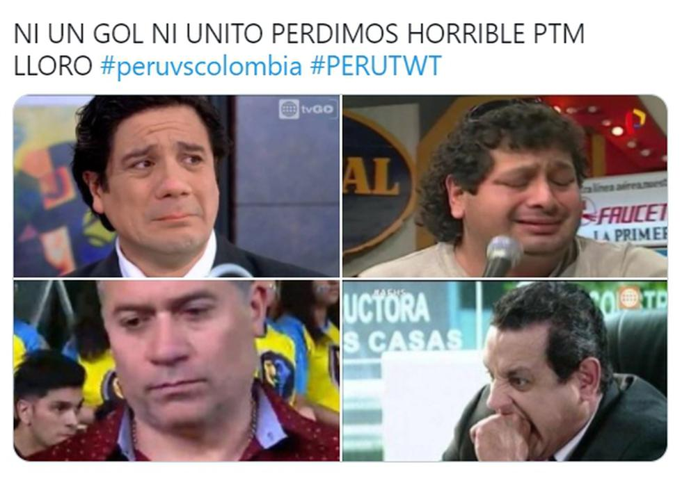 Memes de la derrota de Perú ante Colombia por la fecha 7 de Eliminatorias Qatar 2022