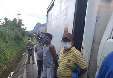 Coronavirus en Perú: Detienen a policía que transportaba a una familia oculta en una miniván, en Huánuco| FOTOS