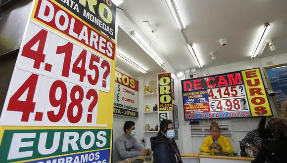 El dólar acumula una ganancia de 14.34% en el mercado peruano en lo que va del 2021. (Foto: Eduardo Cavero / GEC)