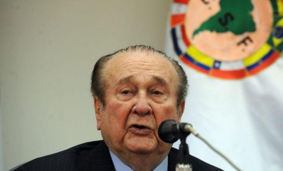 El exdirectivo paraguayo presidió por casi tres décadas el fútbol sudamericano. (Foto: AFP)
