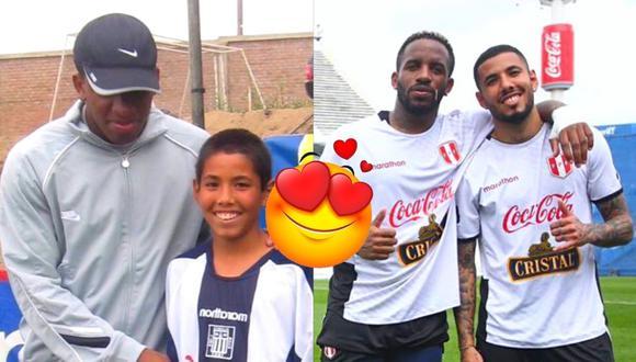 Sergio Peña compartió foto de sus inicios junto a Jefferson Farfán (Foto: @sergiop28)