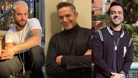 Maluma, Alejandro Sanz, Luis Fonsi y otros artistas participarán en el concierto #SeparadosPeroJuntos. (Foto: Instagram)