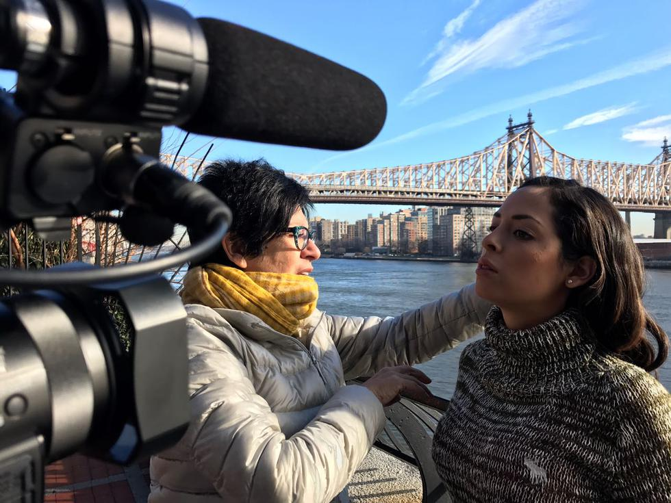 'Solo una madre': actores grabaron primeras escenas en Nueva York