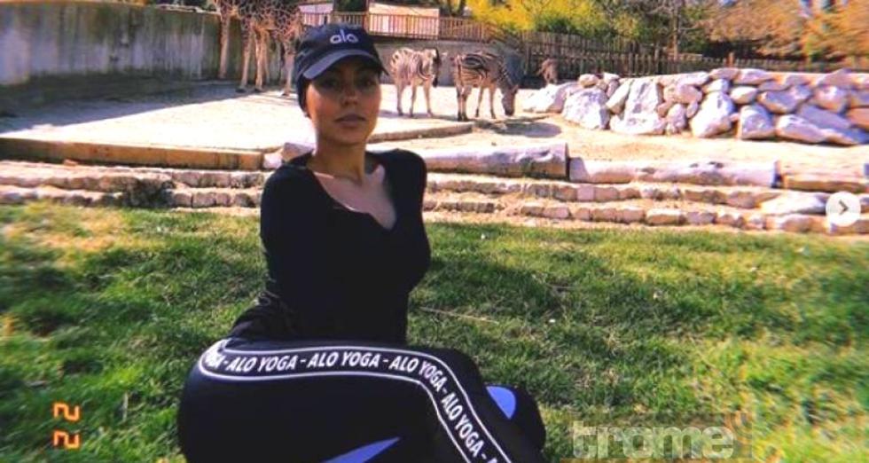 Esta imprudencia cometió Georgina Rodríguez en el zoológico de España y puso en riesgo su seguridad.