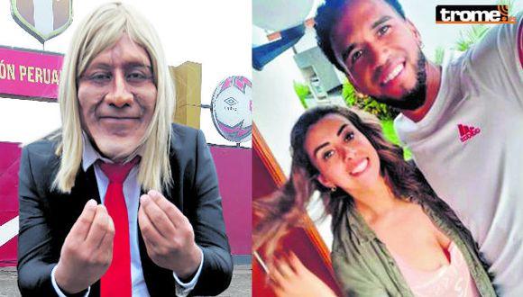 Ricardo 'Careca' 'apañó' a Pedro Gallese. (GEC/ Redes sociales)