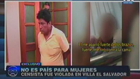 Victima ratificó que le ofrecieron mil soles para que no hiciera su denuncia. Joven fue violada el último domingo en Villa El Salvador.