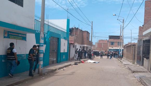 La Libertad: el crimen ocurrió en la parte baja del distrito La Esperanza, en la provincia de Trujillo. (Foto: La Industria)