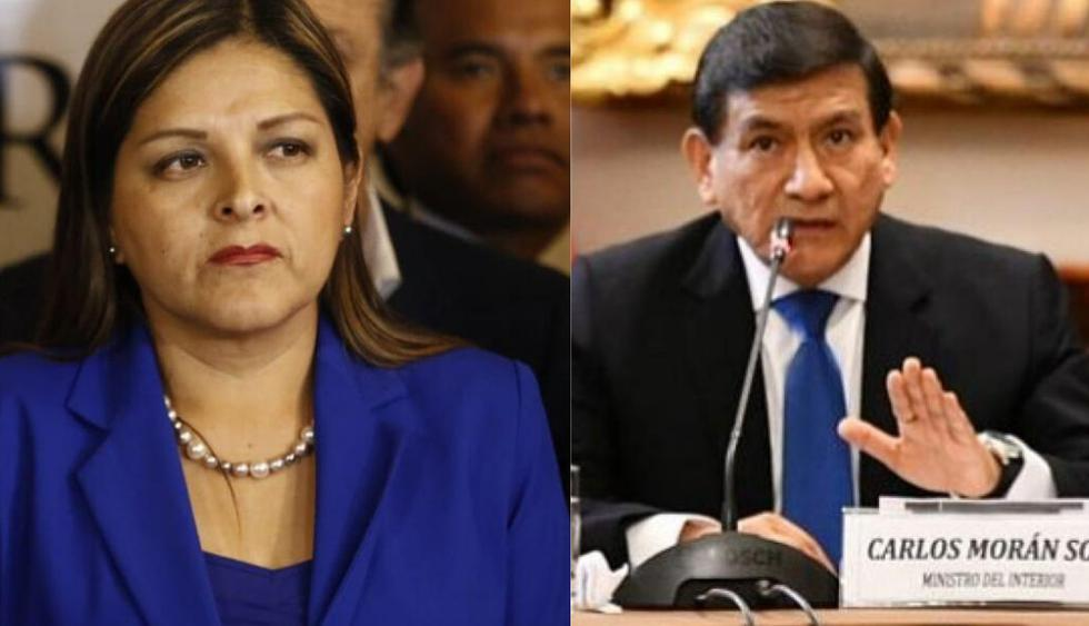 Beteta critica que francotiradores custodien el Congreso y Morán le contesta con todo