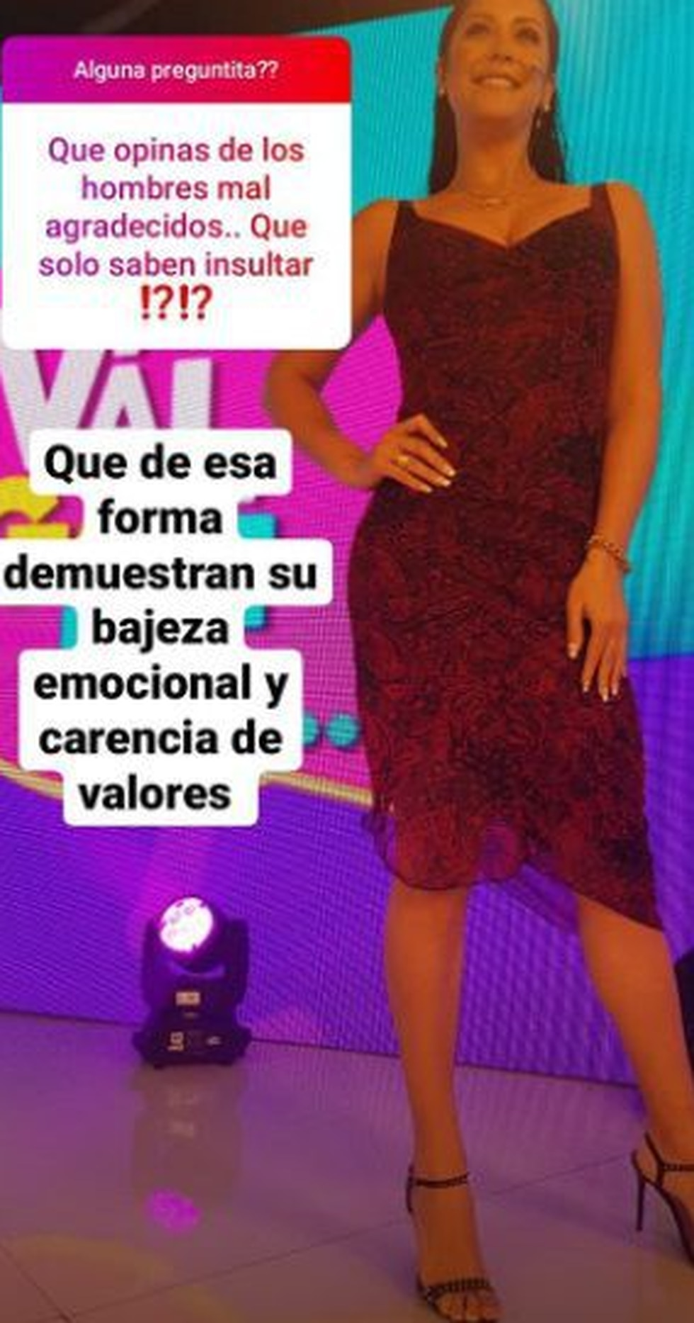 La respuesta de Karla Tarazona a Leonard León.