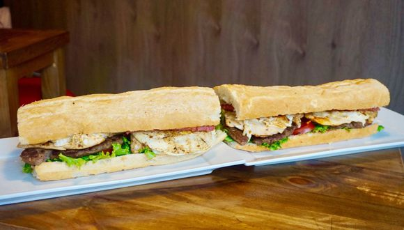El sándwich mide 50 centímetros. (Foto: Carnívoro)