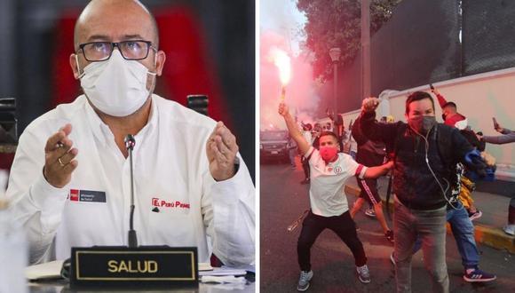 La reacción de Victor Zamora tras banderazo de hinchas de Universitario