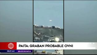 Ciudadano graba presunto Ovni que sobrevolaba en Piura