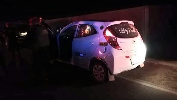 Ica: Policías intervienen auto y encuentran 21 paquetes de cocaína (Foto: PNP)