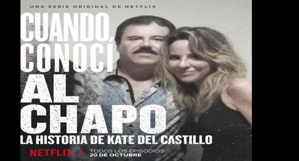 La historia de Kate del Castillo se estrenará este 20 de octubre en Netflix.