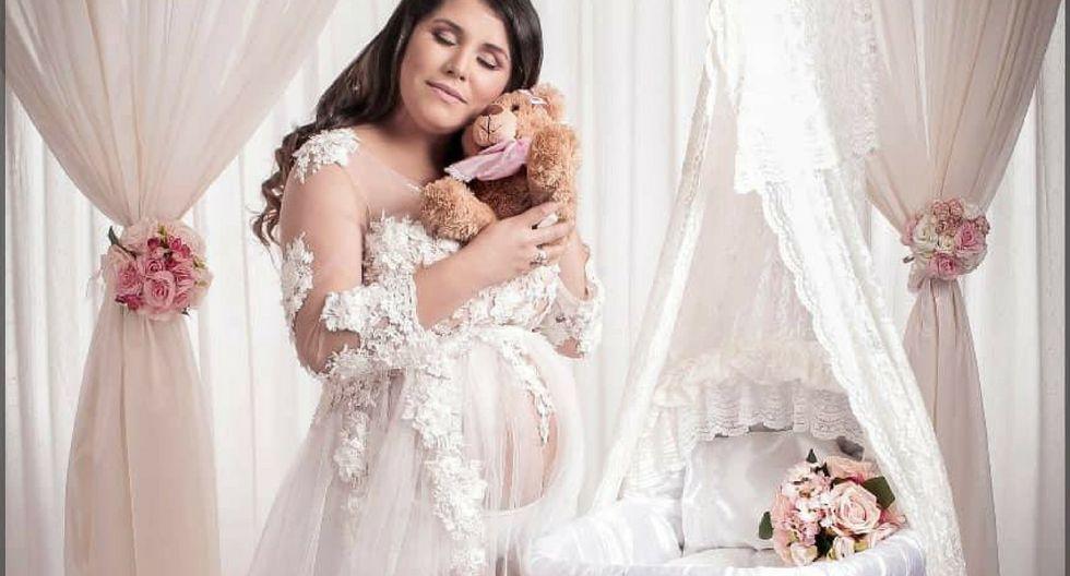 Lady Guillén publicó sesión de fotos de su embarazo | Instagram