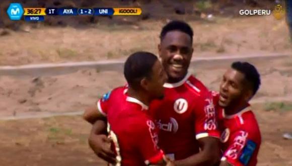 Gol de Tejada a Ayacucho FC