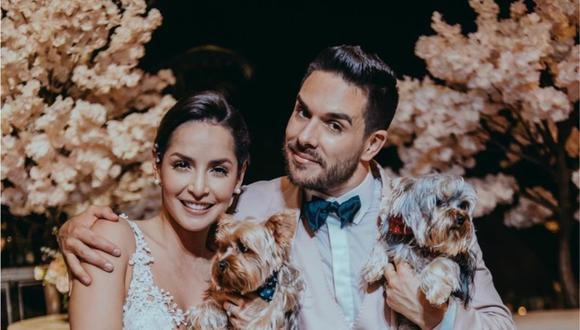 Carmen Villalobos se casó con el actor Sebastián Caicedo en 2019. (Foto: @cvillaloboss)