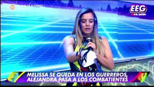 Alejandra Baigorria se siente dolida y llora por ser enviada a Los Combatientes