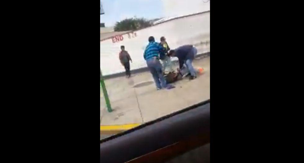 Balacera en Miraflores dejó dos cambistas heridos tras violento asalto.