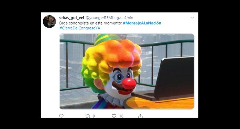 Martín Vizcarra anunció el cierre del Congreso y los memes se viralizaron en las redes sociales