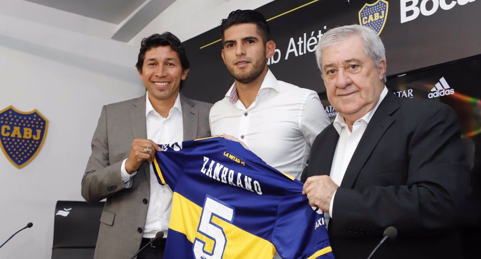 Zambrano será el décimo peruano que juegue en el club bonaerense. (Foto: Boca Juniors)