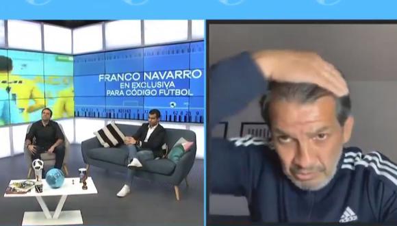 Franco Navarro viene de ganar con UTC a Alianza Lima por Liga 1