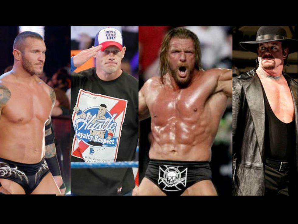 Estos son los luchadores que resultaron ganadores en las últimas diez ediciones del WWE Royal Rumble. (Composición Redes Sociales)