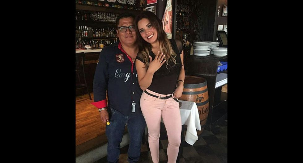 Andrea Fonseca se casará con Robert Muñoz