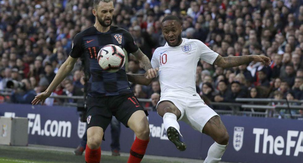 Inglaterra vs Croacia: Partido por la Liga de las Naciones UEFA