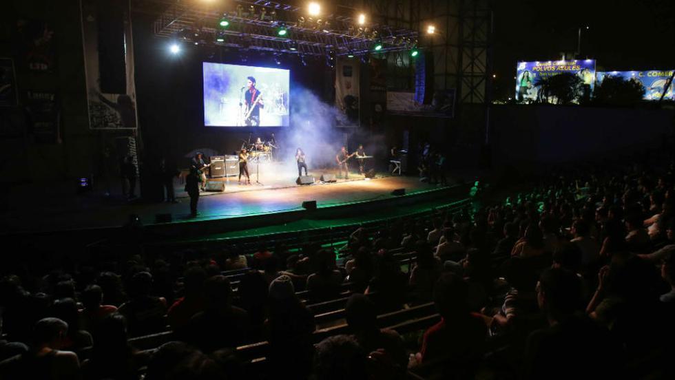 Concierto 'Noches de Lima Celebra el rock' este sábado en el Parque de La Muralla.