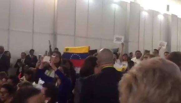 Cumbre de las Américas: sesión fue interrumpida por manifestantes que apoyan gobiernos de Venezuela y Cuba