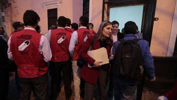 lima 23 de octuibre del 2019 Acción Popular lidera intención de voto en Lima Metropolitana con 18%, según Datum. (TROME)