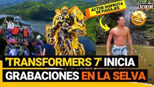 Transformers 7: Producción inicia rodaje en la selva de Tarapoto y así apoya a pobladores del lugar