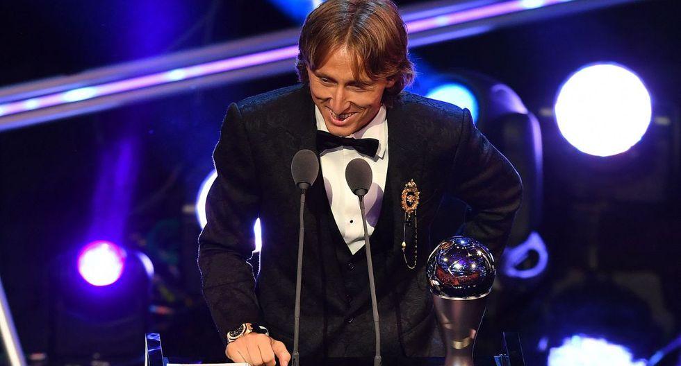 Luka Modric el mejor jugador del año por la FIFA