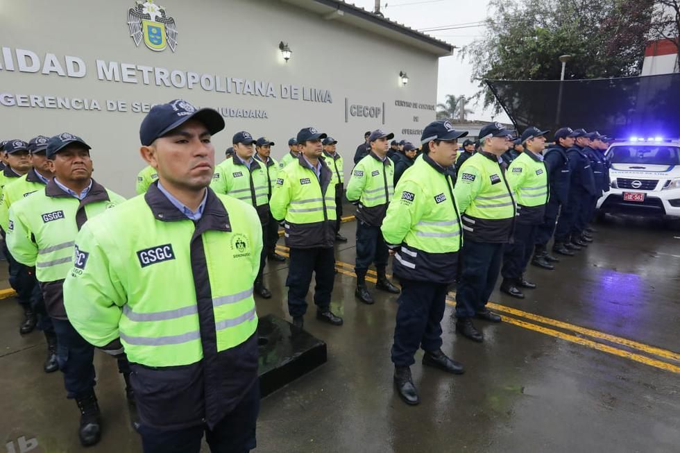 Los serenos en tres turnos contarán con el apoyo de las 479 cámaras de vigilancia instaladas en cruces estratégicos de las calles del Cercado de Lima.