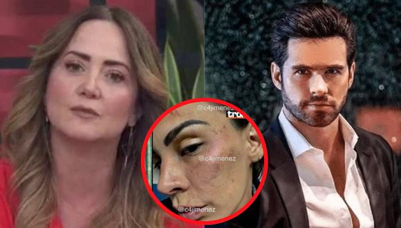 """Andrea Legarreta sobre Eleazar Gómez y su agresión a Stephanie Valenzuela: """"Estuvo terrorífico, hay que terminar con esto"""""""