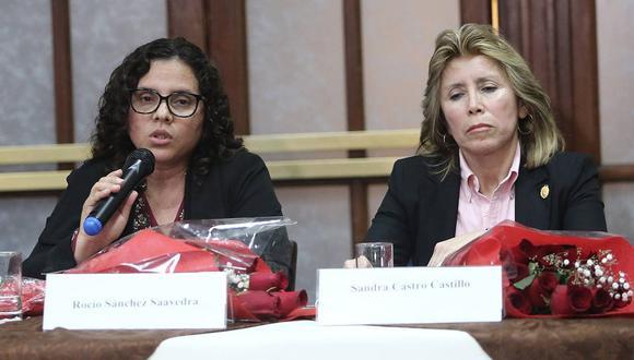 """La JNJ consideró que la reunión de las fiscales Sandra Castro y Rocío Sánchez con Martín Vizcarra """"podría configurar la admisión de una interferencia del poder político en un organismo autónomo como es el Ministerio Público"""". (Foto: GEC)"""