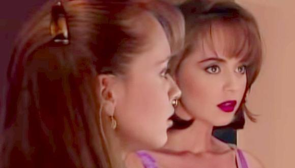 Para La usurpadora, Gaby Spanic asumió el reto de caracterizar dos personajes al mismo tiempo (Foto: La usurpadora / Televisa)