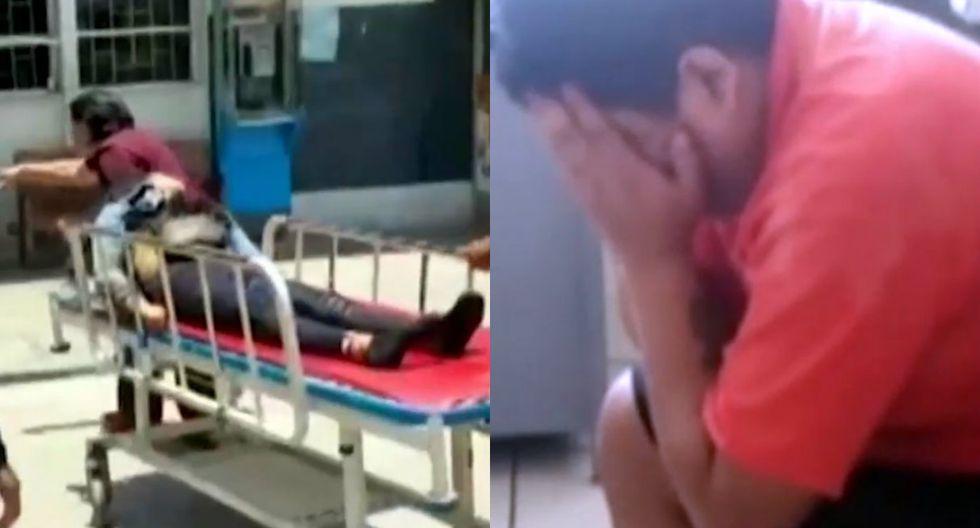 Invidente se entregó a la Policía tras acuchillar brutalmente a la madre de sus hijos (TROME)