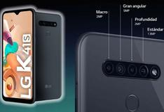 LG K41s: el smartphone de 5 cámaras que resalta por su batería, tamaño y precio accesible