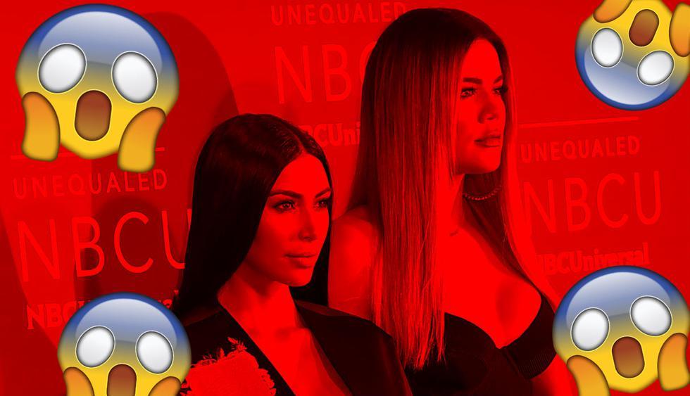 Kim Kardashian habló de la infidelidad sufrida por su hermana Khloé. (Composición: Trome.pe / Fotos: Captura)