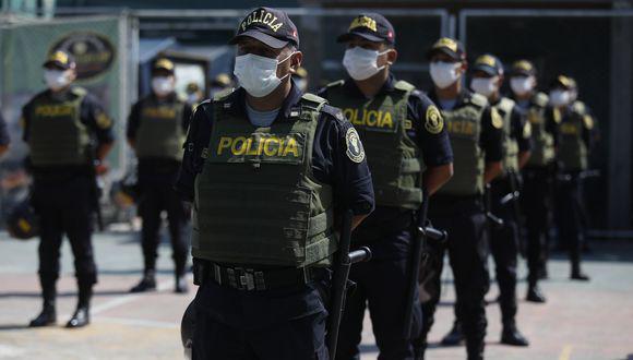 Casi el 50% de policías se contagiaron del COVID-19. (Foto:GEC)