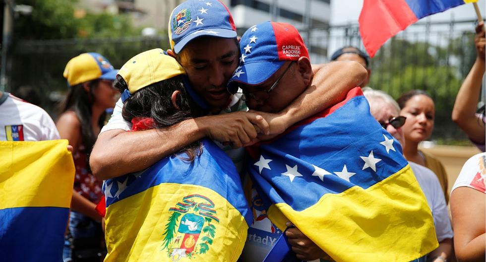 Casi un millón de venezolanos residen en el Perú