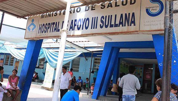 Fuga de balón de oxígeno causa pánico en hospital de Sullana