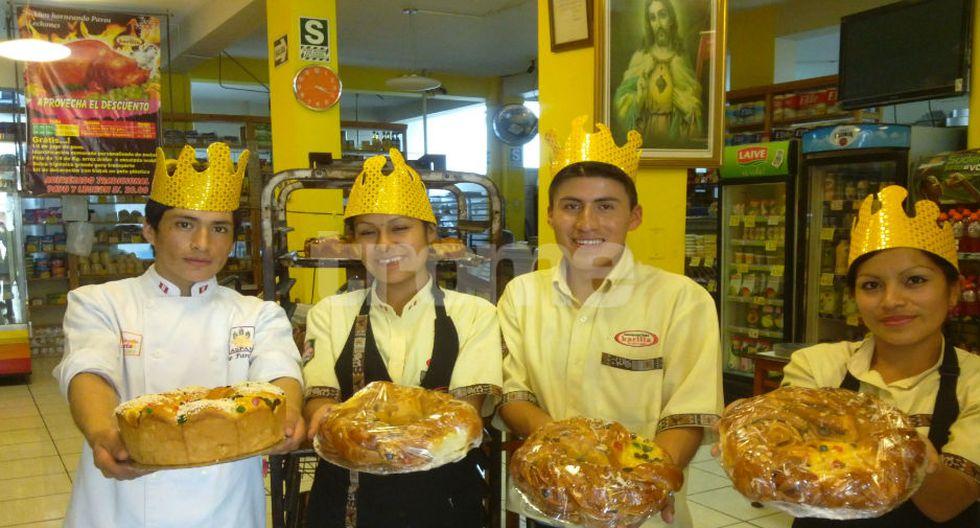 Peruanos consumirán más de 750 mil roscas de reyes.(FOTO: Isabel Medina)