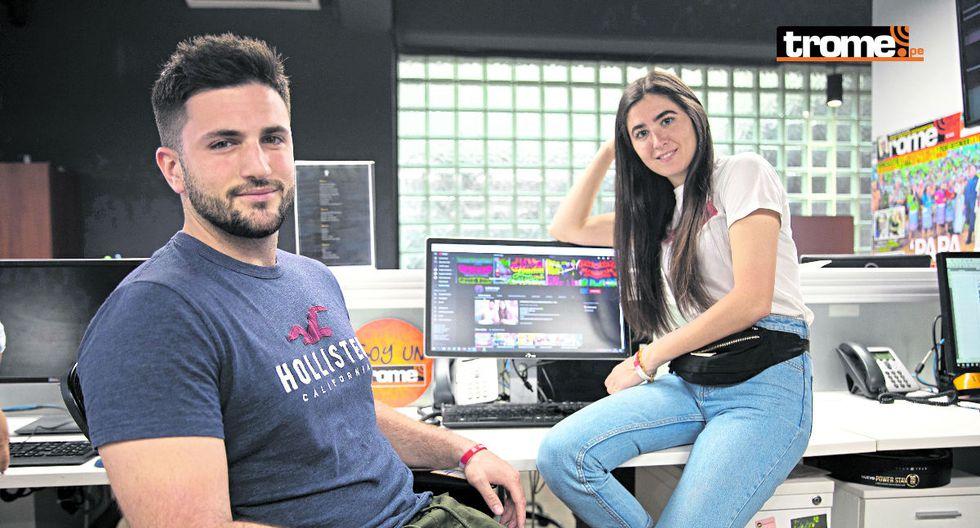 Youtubers Yaiza Gesto y Juan Carlos Blas: 'Los causitas del Perú'